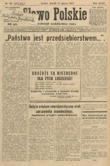 Słowo Polskie. 1931, nr85