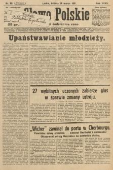 Słowo Polskie. 1931, nr86