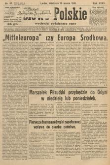 Słowo Polskie. 1931, nr87