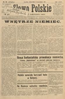 Słowo Polskie. 1931, nr96