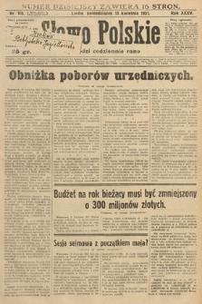 Słowo Polskie. 1931, nr100