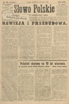 Słowo Polskie. 1931, nr102