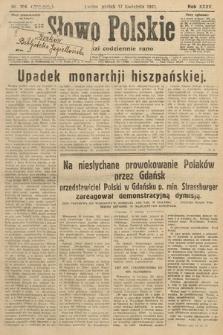 Słowo Polskie. 1931, nr104