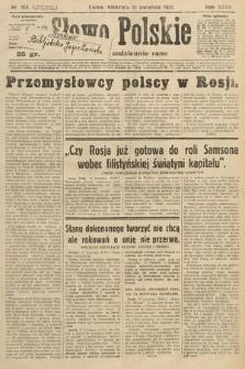 Słowo Polskie. 1931, nr106