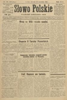 Słowo Polskie. 1931, nr115