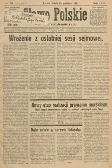 Słowo Polskie. 1931, nr116