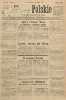 Słowo Polskie. 1931, nr136