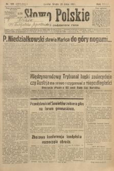 Słowo Polskie. 1931, nr137