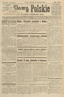 Słowo Polskie. 1931, nr163
