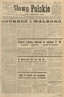 Słowo Polskie. 1931, nr168