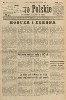 Słowo Polskie. 1931, nr172