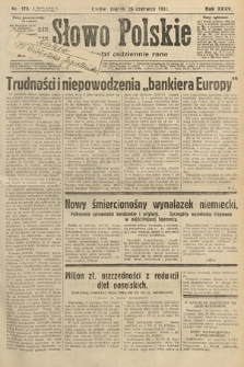 Słowo Polskie. 1931, nr173
