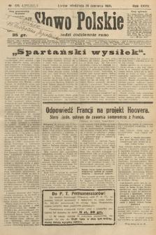 Słowo Polskie. 1931, nr175