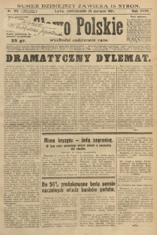 Słowo Polskie. 1931, nr176