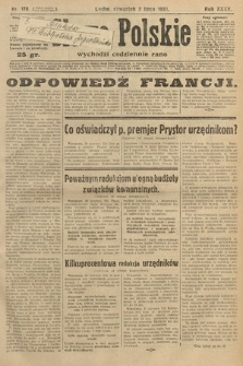 Słowo Polskie. 1931, nr178