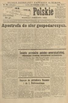 Słowo Polskie. 1931, nr182
