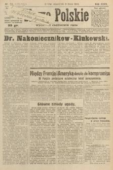 Słowo Polskie. 1931, nr185