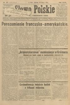Słowo Polskie. 1931, nr186