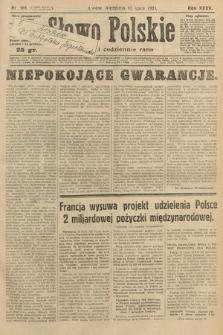 Słowo Polskie. 1931, nr188