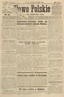 Słowo Polskie. 1931, nr197
