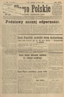 Słowo Polskie. 1931, nr201