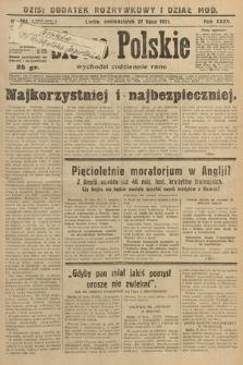Słowo Polskie. 1931, nr203