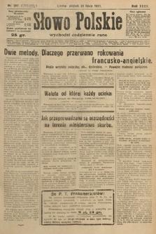 Słowo Polskie. 1931, nr207