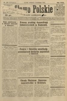 Słowo Polskie. 1931, nr211