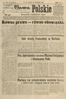 Słowo Polskie. 1931, nr221