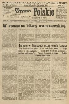 Słowo Polskie. 1931, nr223