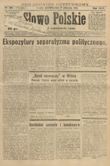 Słowo Polskie. 1931, nr224