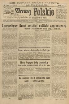 Słowo Polskie. 1931, nr226