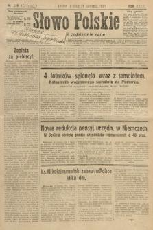 Słowo Polskie. 1931, nr228