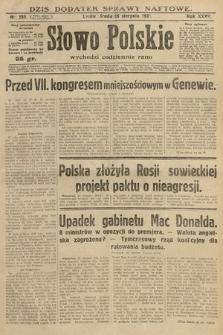 Słowo Polskie. 1931, nr233
