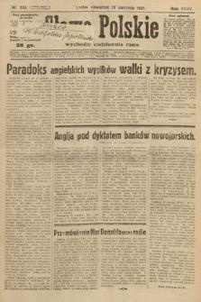 Słowo Polskie. 1931, nr234