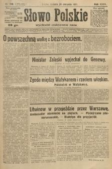 Słowo Polskie. 1931, nr236