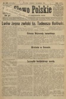Słowo Polskie. 1931, nr239