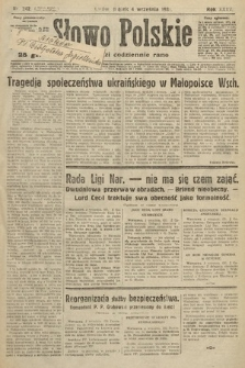 Słowo Polskie. 1931, nr242