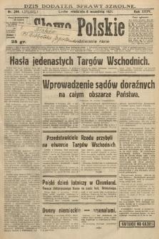 Słowo Polskie. 1931, nr244