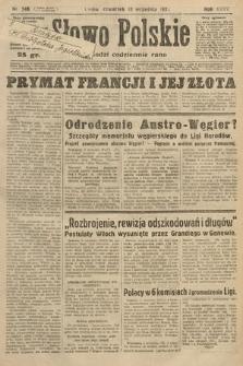 Słowo Polskie. 1931, nr248