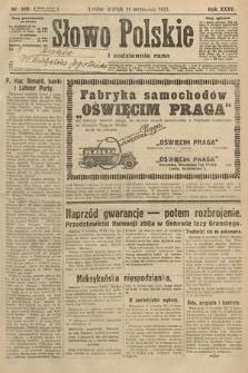 Słowo Polskie. 1931, nr249