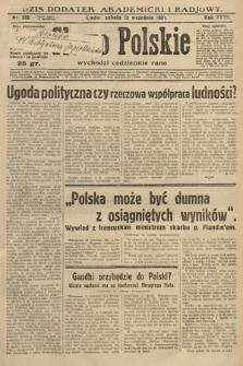 Słowo Polskie. 1931, nr250