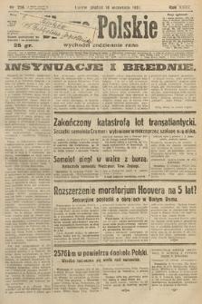 Słowo Polskie. 1931, nr256