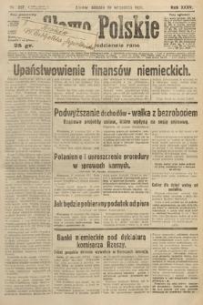 Słowo Polskie. 1931, nr257