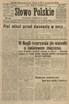 Słowo Polskie. 1931, nr261