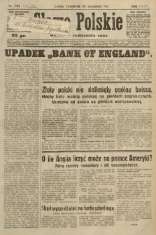 Słowo Polskie. 1931, nr262