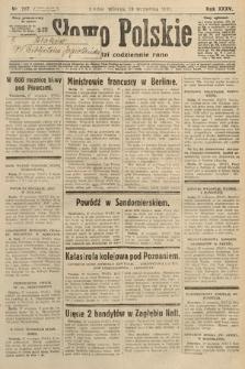 Słowo Polskie. 1931, nr267