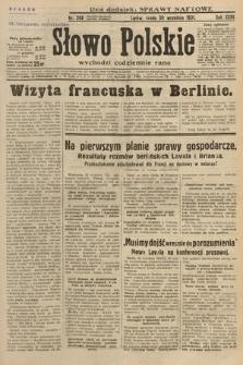 Słowo Polskie. 1931, nr268