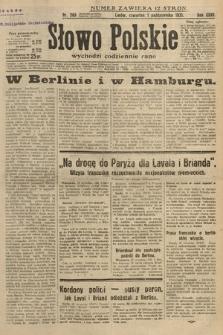 Słowo Polskie. 1931, nr269