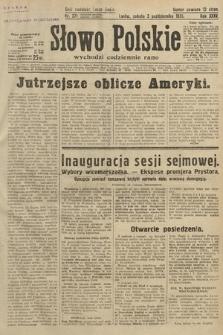 Słowo Polskie. 1931, nr271